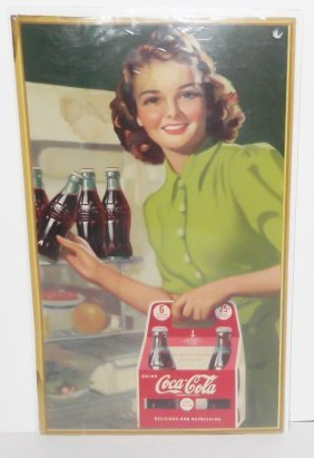 Original Coca Cola Advertising Poster