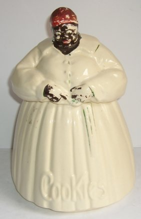 1940's Mccoy Ceramic Mammy Cookie Jar
