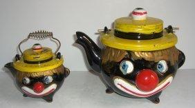 Black Americana Thames Stacking Tea Set