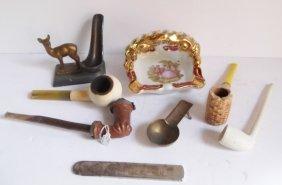 Assorted Pipe/cigar/cigarette Lot