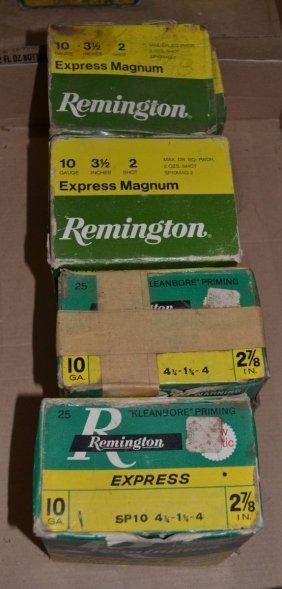 4 Boxes Remington 10ga Shotgun Shells