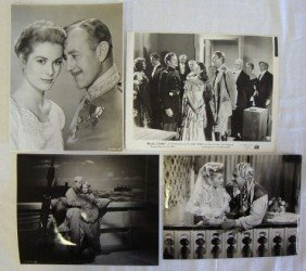 FOUR MOVIE STILLS. KELLY. GUINESS. L.BALL