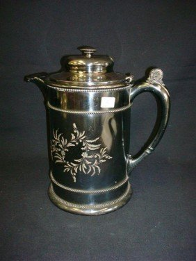 LARGE FORBES SILVERPLATE WATER POT