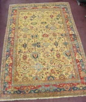 SEMI-ANTIQUE PERSIAN TABRIZ