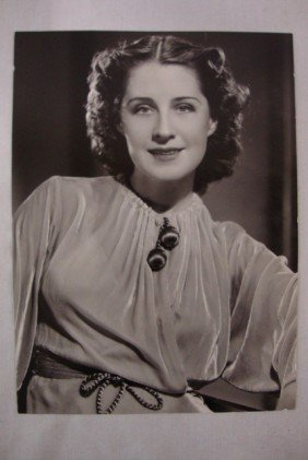 CLARENCE SINCLAIR BULL PORTRAIT NORMA SHEARER