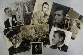 CLARK GABLE PHOTOGRAPHS(9)