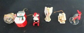 Christmas Ornaments. Estate Of Liberace
