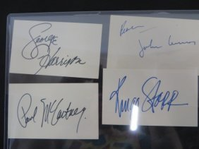 Beatles Autographs (4)