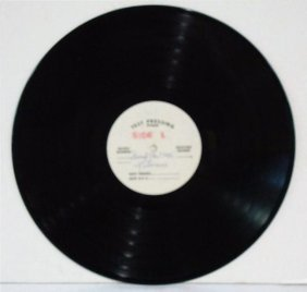 liberace Test Pressing Record 33-1/3 Rpm