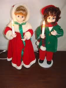 "Liberace Animated 24"" Christmas Figures"