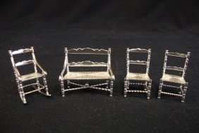 Sterling Silver Miniatures Liberace Estate