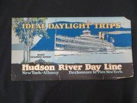 Hudson River Day Line Poster