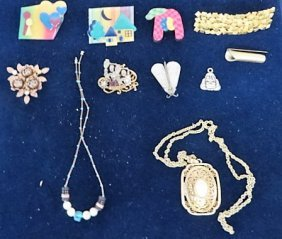 Costume Jewelry Lot (10)