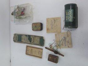 Antique Fishing Lures (5) & Accessories