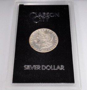 1882-CC U.S. Carson City Morgan Silver Dollar Coin