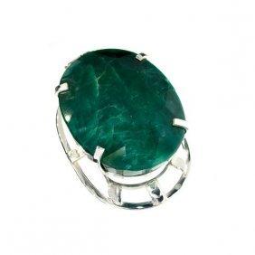 APP: 20k Sebastian 327CT Emerald Silver Pendant