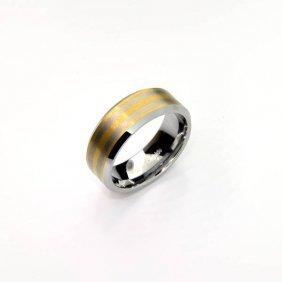 Rare Exquisite Tungsten Size 10 Ring