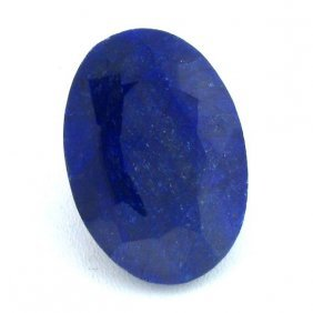 APP: 14k 102.15CT Oval Cut Sapphire Gemstone
