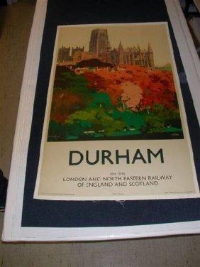 Durham By Fred Taylor On Linen