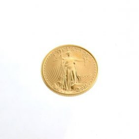 2007 US $5 Saint Gaudens Gold Coin - Investment