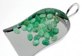 APP: 5.4k 20.10CT Oval Cut Emerald Parcel