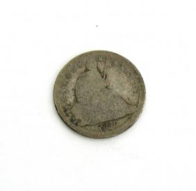 1840-O U.S. Seated Liberty Dime Coin - Investment