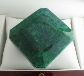 APP: 114.7k 1,711.55CT Square Cut Emerald Gemstone