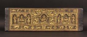 Old Tibetan Buddhist Manuscript Cover