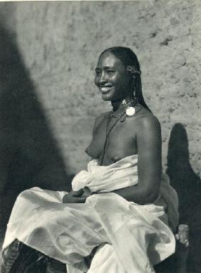 HUGO BERNATZIK - Sudanese Woman Form Omdurman