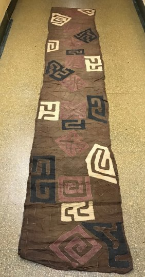 Long Kuba Cloth Textile From Democratic Republic Of Con