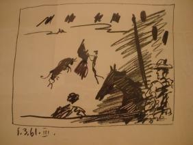 Pablo Picasso: Jeu De La Cape