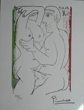 """Pablo Picasso: Suite """"le Gout Du Bonheur"""""""