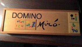 Joan Miro Domino Set Parler Seul Art Dominoes