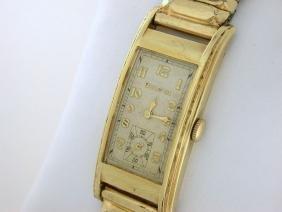 "Vintage Bulova Art Deco 10K Gold Plate ""Minute Man"""
