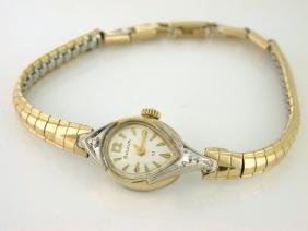 Bulova 23 Jewels Ladies 10k Rolled Gold Plate Watch