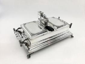 Vintage Birks Sterling Silver Smokers Companion Box