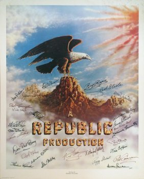 REPUBLIC AUTOGRAPHS Roy Rogers Alyn Steele, More