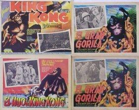 KING KONG MEXICAN LCs Fay Wray, Robert Armstrong