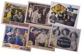 1920's-1930's LOBBY CARD GROUP