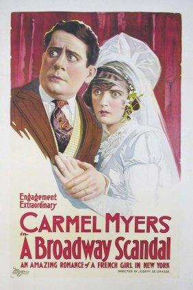 BROADWAY SCANDAL, A Lon Chaney, Carmel Myers