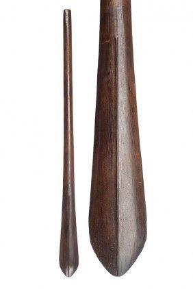 A Wooden Club
