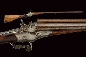 A Rare Rolling Block Nagant/remington System Breech