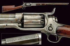 A Colt Model 1855 Revolving Carbine