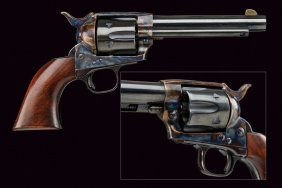 A Miniature Colt Single Action Army Revolver