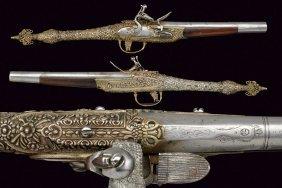 A Rare Pair Of Flintlock Pistols