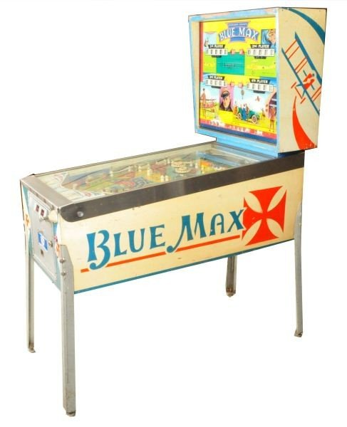blue max pinball machine