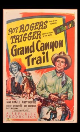 Roy Rogers Grand Canyon Trail Movie Poster