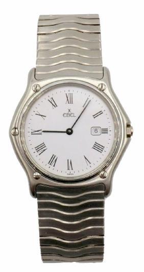 Ebel Classic Sport Wave Stainless Steel Men's Watch