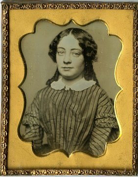 Daguerreotypes By Electricity, Sweet Girl. 1/9 Plate