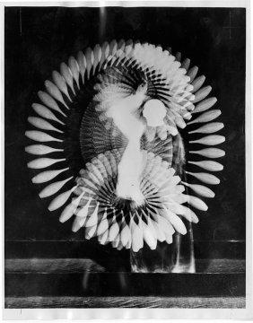 Harold Edgerton, Indian Club Swing, 1939 Print